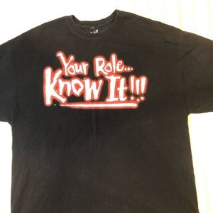WWE The Rock Know your Role T-Shirt